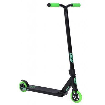 Freestyle koloběžka Crisp Blitz Black Green - 1