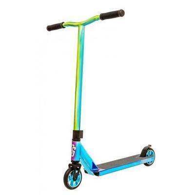 Freestyle koloběžka Crisp Surge Chrome Blue Green Purple - 1