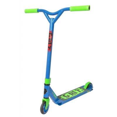 Freestyle koloběžka Grit Extremist Blue Fluro Green - 1