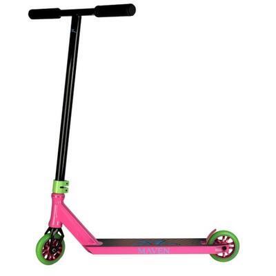 Freestyle koloběžka AO Maven Black Gloss Pink - 1