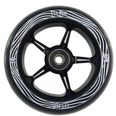 Kolečko AO Pentacle 30 x 115 Black