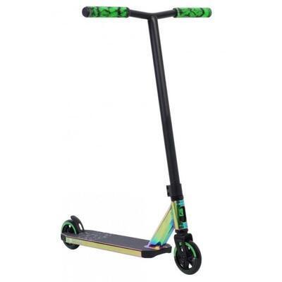 Freestyle koloběžka Invert Supreme 2-8-13 Neo Green Black