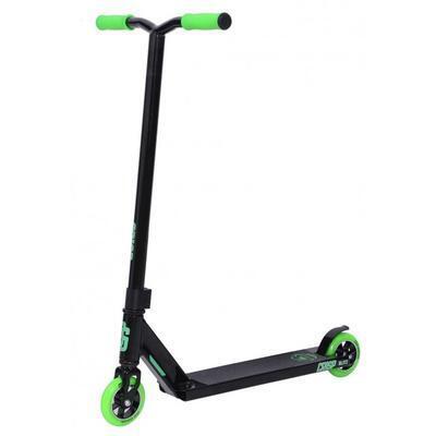 Freestyle koloběžka Crisp Blitz Black Green - 2