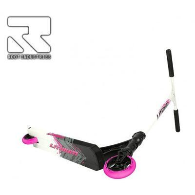 Freestyle koloběžka Root Lithium Grey Pink - 2
