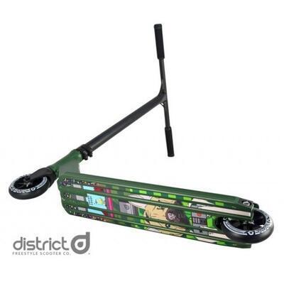 Freestyle koloběžka District C50R Helmeri - 3