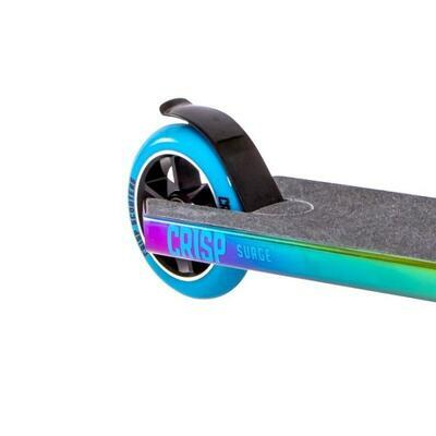 Freestyle koloběžka Crisp Surge Chrome Blue Green Purple - 4