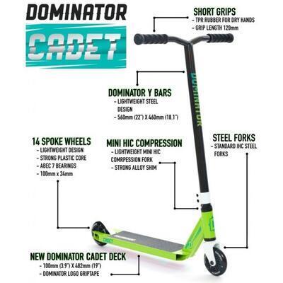 Freestyle koloběžka Dominator Cadet Blue - 5